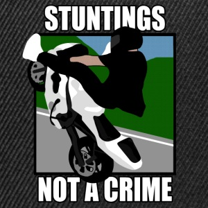 STUNTINGS NOT A CRIME T-Shirts - Snapback Cap