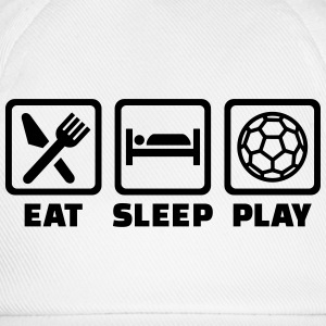 Eat sleep Handball T-Shirts - Baseballkappe