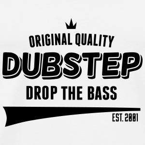 Original Dubstep - Drop The Bass Annet - Premium T-skjorte for menn