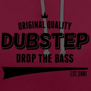 Original Dubstep - Drop The Bass Bags & Backpacks - Contrast Colour Hoodie