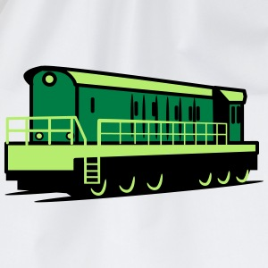 Train train Rangieren locomotive T-Shirts - Drawstring Bag