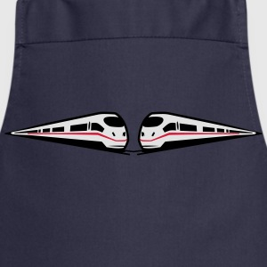 Train railway ice fast T-Shirts - Cooking Apron