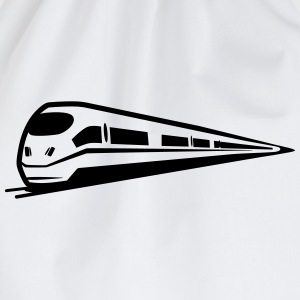 Train railway ice T-Shirts - Drawstring Bag