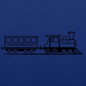 Train steam locomotive railway wagon T-Shirts - Tote Bag