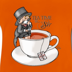 tea time like a Sir with Earl Grey (text) T-Shirts - Baby T-Shirt