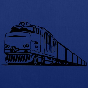 Freight railway locomotive T-Shirts - Tote Bag