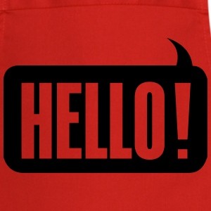 Hello! T-Shirts - Cooking Apron