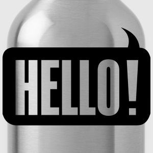 Hello! T-Shirts - Water Bottle