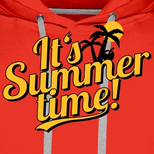 It's Summer Time - beach & holiday Shirts - Men's Premium Hoodie
