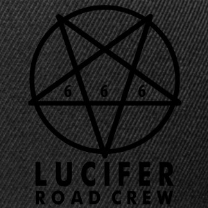 T Shirt - LUCIFER ROAD CREW 666 - Snapback Cap