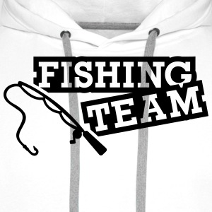 Fishing Team T-Shirts - Männer Premium Hoodie