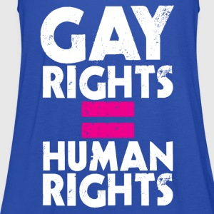 GAY RIGHTS = HUMAN RIGHTS T-Shirts - Women's Tank Top by Bella