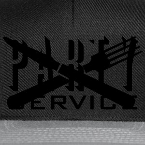 Partyservice /  Party service (1c) T-Shirts - Snapback Cap
