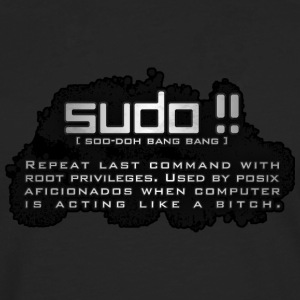 Sudo Bang Bang T-Shirt for the Lady Sudoers - Långärmad premium-T-shirt herr