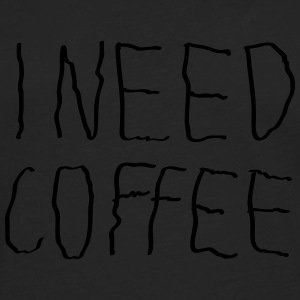 I Need Coffee T-skjorter - Premium langermet T-skjorte for menn