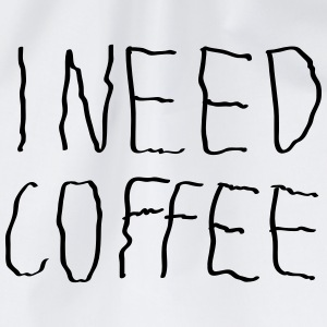 I Need Coffee T-skjorter - Gymbag