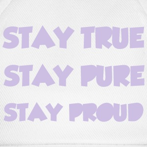 Stay True T-skjorter - Baseballcap