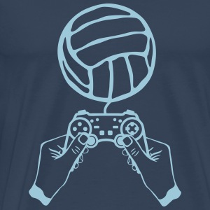 volleyball manette jeux main paddle Manches longues - T-shirt Premium Homme