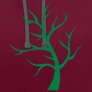 arbre branche 204 Tee shirts - Sweat-shirt contraste