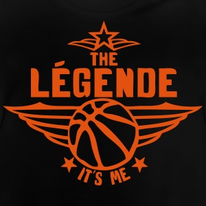 basketball legende its me est moi logo Tee shirts - T-shirt Bébé