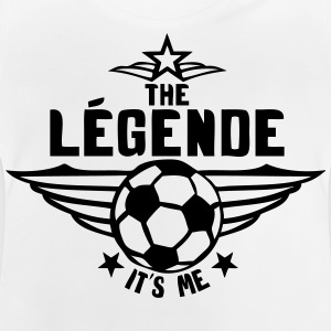 football legende its me est moi logo Tee shirts - T-shirt Bébé