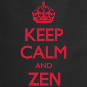 Keep Calm and Zen T-Shirts - Cooking Apron