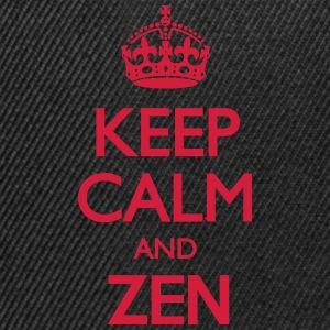 Keep Calm and Zen T-Shirts - Snapback Cap