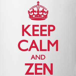 Keep Calm and Zen T-Shirts - Mug