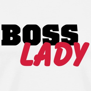 Boss lady Bottles & Mugs - Men's Premium T-Shirt