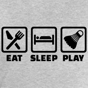 Eat sleep Badminton T-Shirts - Männer Sweatshirt von Stanley & Stella