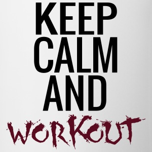 Keep Calm And Workout T-Shirts - Tasse