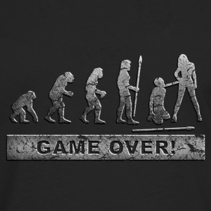Game over T-Shirts - Men's Premium Longsleeve Shirt