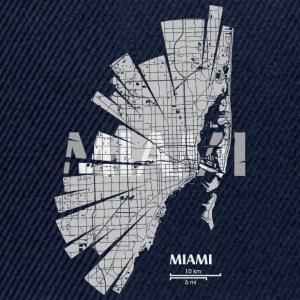 Miami Tee shirts - Casquette snapback