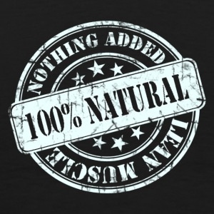 100% Natural White  Hoodies & Sweatshirts - Men's Premium T-Shirt