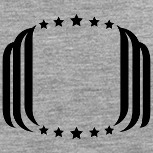 Disposition ram T-shirts - Långärmad premium-T-shirt herr