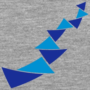 Triangle pattern decoration T-Shirts - Men's Premium Longsleeve Shirt