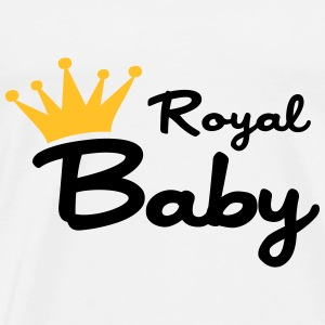 Royal Baby Gensere - Premium T-skjorte for menn