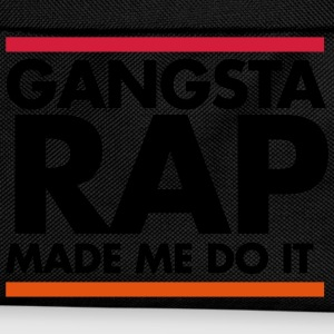 Gangsta rap made me do it Sudaderas - Mochila infantil