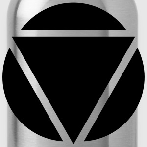Triangle circle design T-Shirts - Water Bottle