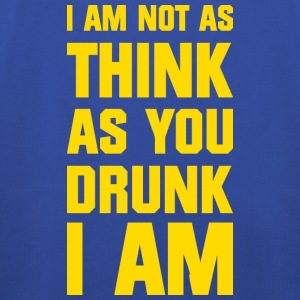 I am not as think as you drunk I am T-shirts - Kinderen trui Premium met capuchon
