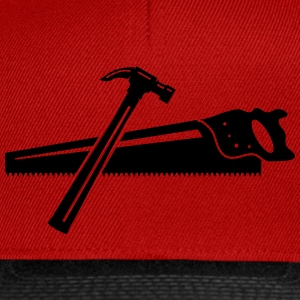 A hammer and a saw  T-Shirts - Snapback Cap