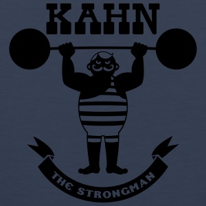 Kahn the Strongman T-Shirts - Männer Premium Tank Top