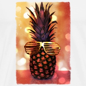 grill glass pineapple - grill brille ananas Mugs & Drinkware - Men's Premium T-Shirt