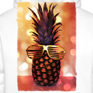 grill glass pineapple - grill brille ananas T-Shirts - Men's Premium Hoodie