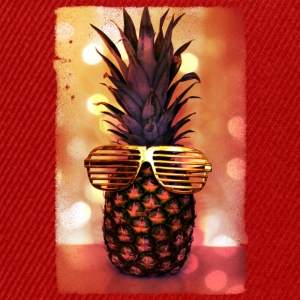 grill glass pineapple - grill brille ananas T-Shirts - Snapback Cap