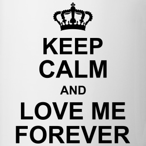keep_calm_and_love_me_forever_g1 Tröjor - Mugg