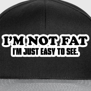 I'm Not Fat T-Shirts - Snapback Cap