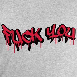 Fuck You Graffiti Design T-Shirts - Men's Sweatshirt by Stanley & Stella