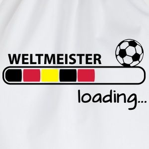 Weltmeister loading... T-Shirts - Turnbeutel