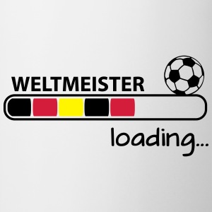 Weltmeister loading... T-Shirts - Tasse